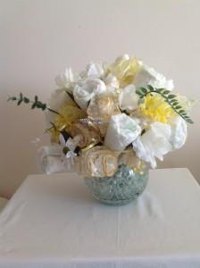 Diaper Floral display